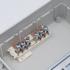 Kép 4/4 - PRO BOX DELUX 12 modulos süllyesztett elosztó doboz Wenge