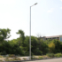 Kép 3/3 - STS POLE 6M/2 galvanizált 2 részből álló lámpatartó oszlop 6m