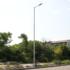 Kép 3/3 - STS POLE 7M/3/108 galvanizált 3 részből álló lámpatartó oszlop 7m